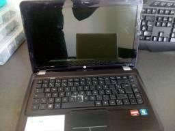 Título do anúncio: Notebook HP Pavillion DV5 Com defeito