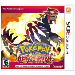 Pokémon Omega Ruby Físico Novo Lacrado - Nintendo 3ds