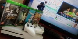Xbox One S...+ Jogos....+ 2 controles...1,800