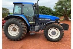 Vendo Trator New Holland Tm 135 4x4 *parcelo