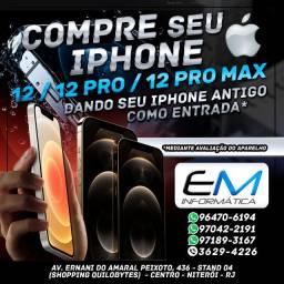 Compre o seu Iphone 12 dando o seu antigo na troca ! Upgrade Inteligente da EM
