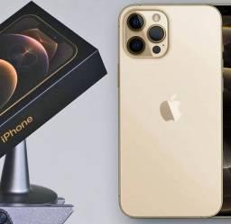 IPhone 12 Pro Max 128GB Gold Lacrado Com Nota.