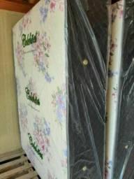 Imperdivel cama box casal de 10 cm de espuma nao precisa de colchao