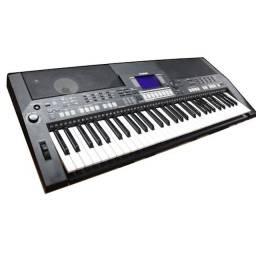 Troco teclado yamaha psr-550b