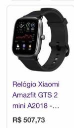Relógio xiomi amazfit GTS 2 mini