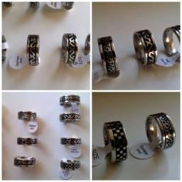 Anéis novos desconto acima de 1 peça