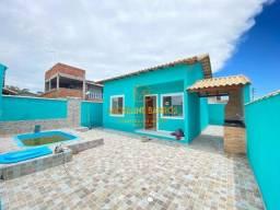 Ca- casa com um quarto e piscina - 98 mil à vista