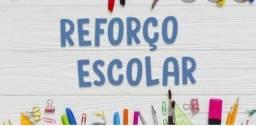 Aulas de Reforço escolar e acompanhamento pedagógico
