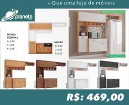 Cozinha Armários Multiuso 039j