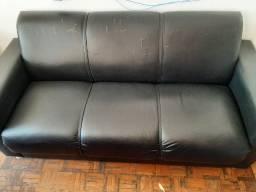 Sofá usado de 3 e 2 lugares