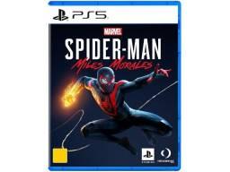 Jogo Bluray PS5 Marvel's Spider Man Miles Morales (Lacrado)