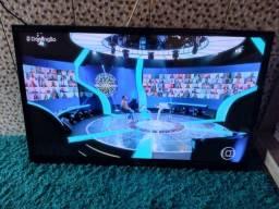 "Tv led 50"" digital semi.nova completa 950,00"