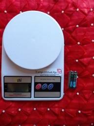 Balança de cozinha eletrônica, de 1g à 10kg. Balança digital de precisão