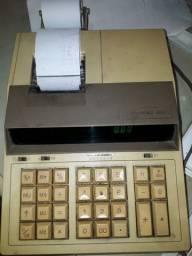 Calculadora com bobina e fita, 110 v