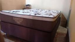 ::Conjunto Cama Box Colchao Ortobom Casal Classic Gold Super Pocket (138x188) Confira;;