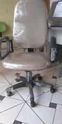 Promoção Preço de custo cadeira escritório em couro