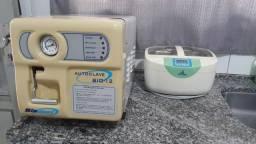 Autoclave e Lavadoura Ultrasonica