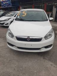 Fiat Grand Siena Attractiv 2015 Flex e Gnv 1.4 Completo