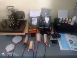 Impressora e prensas para sublimação