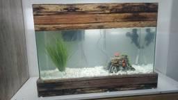 Vendo aquário completo de 100L