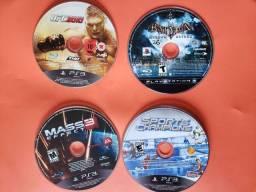 [Vendo/Troco] Desapego - Lote 09 jogos ORIGINAIS PS3