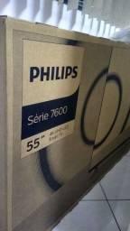 Título do anúncio: TV Philips 4k 55 polegadas
