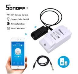 Sonoff TH10 - Com Sensor de Temperatura e Umidade
