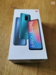 Redmi Note 9 128GB Novo Lacrado Black