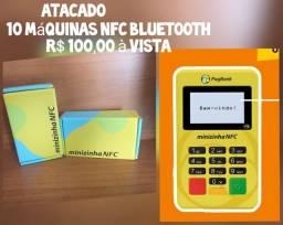 10 máquinas de cartão por R$ 100