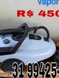 Maquina de vapor Lavor, R$ 450,00
