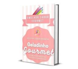 Combo de Receitas - Geladinho Gourmet, Bala de Brigadeiro & Palha Italiana<br><br>