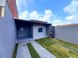 JP casa nova com 2 quartos 2 banheiros, grande espaço na garagem com otimo acabamento