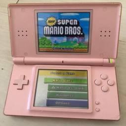 Nintendo DS Lite + 16 jogos + Case e carregador