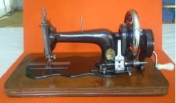 Maquina de costura antiga, marca clemens muller dresden
