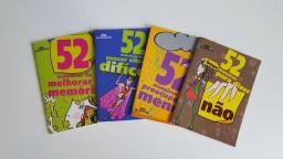"""Kit de livros """"52 maneiras"""""""
