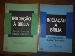 Vende-se 04 livros estudo biblico e outros