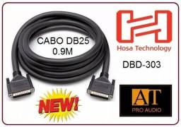 Hosa Dbd303 Cabo Db25 X Db25 2x Macho 1.5m Audio/data Loja Física