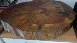 Bolacha de madeira