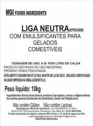Liga Neutra Com Emulsificantes Industrial a Quente e Artesanal