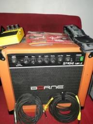 Vendo guitarra com amp e pedal