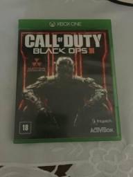 Vendo jogo Call Of Duty Black Ops 3 XBOX ONE