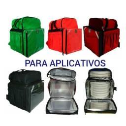Mochilas bag brasil para aplicativos pizzarias e deliverys