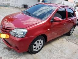 Toyota Etios 1.3 X hatch 2014 particular Novo - 2014
