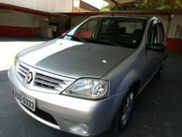 Renault Logan 1.6 flex completo - 2009