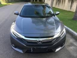Honda civic touring turbo top muito novo todo revisado - 2017