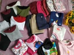 Estoque de roupa infantil