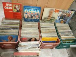 Discos de vinil 550 unidades