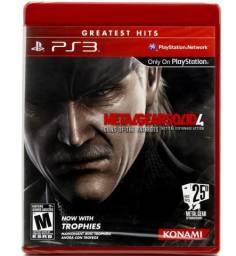 Jogo Metal Gear Solid 4 PS3