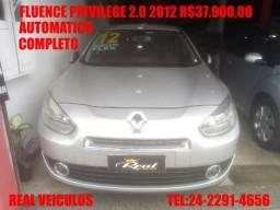 Renault Fluence Privilege 2.0,automático, 2012, Muito novo, aceito troca e financio - 2012