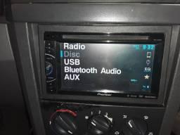 Vendo 2din pioneer bluetooth mixtrax